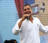 Ecuador: Rafael Correa será candidato a vicepresidente