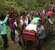 Colombia: ocho asesinatos políticos en una semana