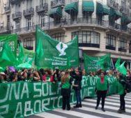 Congreso argentino recibe el proyecto de ley del aborto