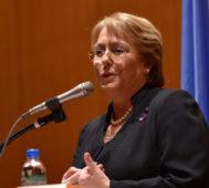 Mientras, Bachelet pide «fin de la represión» en Nicaragua