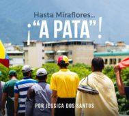 """Hasta Miraflores… ¡""""a pata""""! – Por Jessica Dos Santos"""