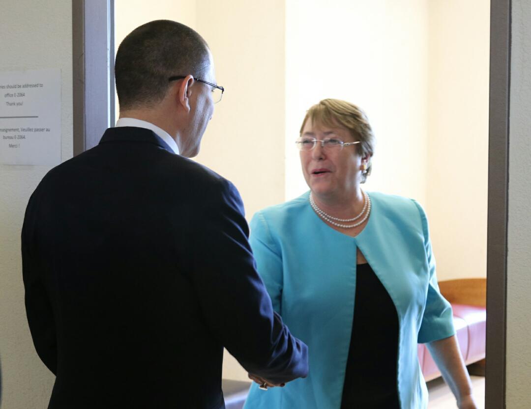 Bachelet dice que Venezuela padece crisis humanitaria