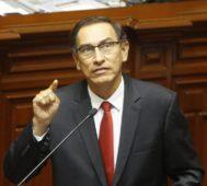 Congreso de Perú aprueba un juicio al presidente Vizcarra