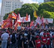 Organizaciones marcharon en Buenos Aires contra el G20