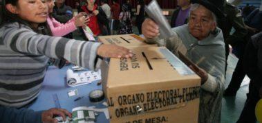 Cuenta regresiva para las elecciones en Bolivia