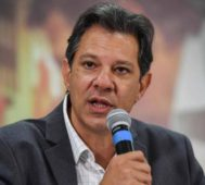 Haddad dijo que tiene aval de Lula para su precandidatura