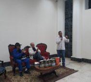 Conversatorio con Luis Bilbao en la Feria del Libro