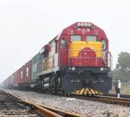 Fuerte aumento de viajes de trenes entre China y Europa