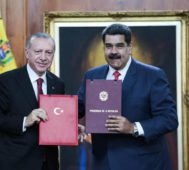 Venezuela firma ocho acuerdos con Turquía
