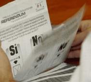 Referendo en Perú en plena crisis política y judicial