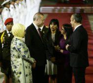 Presidente de Turquía realiza su primera visita a Venezuela