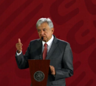 López Obrador niega haber ordenado detener a migrantes