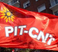 La Central sindical uruguaya convocó a un paro general