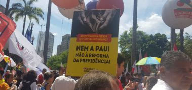 Brasil recibió con protestas la reforma jubilatoria