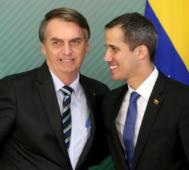 Bolsonaro pide rechazar las elecciones en Venezuela