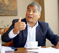 """Correa: """"no podrán ocultar la corrupción de Moreno"""""""