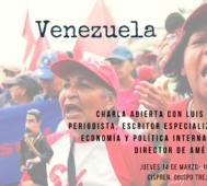 Esta tarde charla abierta sobre Venezuela con Luis Bilbao