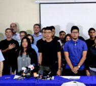 Oposición nicaragüense suspende el diálogo