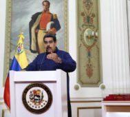 Maduro mostró detalles del ataque al sistema eléctrico