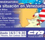 Este sábado Luis Bilbao conversa sobre Venezuela