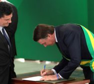 Bolsonaro y Moro tuvieron una reunión en la CIA