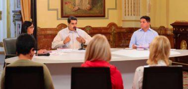 Covid-19: Maduro coordina cooperación con la ONU