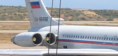 Rusia: el avión en Venezuela es parte de la cooperación