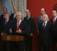 Chile: asumió el nuevo gabinete de Sebastián Piñera