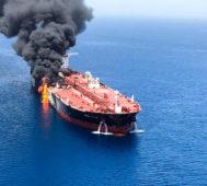 Atacan dos buques vinculados a Japón en el Golfo de Omán