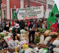 Paraguay: campesinos e indígenas siguen en las calles
