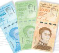 Venezuela incorpora nuevos billetes al Cono Monetario