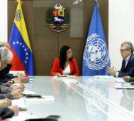 Venezuela amplía trabajo con ONU por víctimas del bloqueo