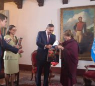 Bachelet culminó una intensa agenda en Venezuela