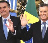 """Bolsonaro-Macri: """"Que no haya más Venezuelas"""""""