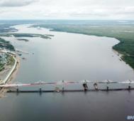 Así es el puente carretero que conectará a China y Rusia