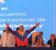 Caracas: sesiona el Encuentro Internacional de Trabajadores