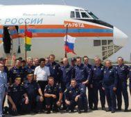 Avión gigante ruso se suma por los incendios en Bolivia