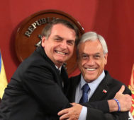 Piñera pide evidencias a Bachelet sobre Brasil