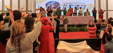 Finalizó el Primer Congreso Internacional de Mujeres