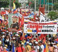 Chavismo se movilizó ante las amenazas desde Colombia