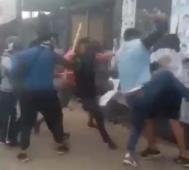 Violencia en la campaña electoral boliviana