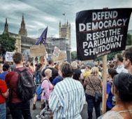 Contundente protesta contra el Brexit en Londres