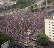 Chile sigue en la calle y pide la reforma de la Constitución