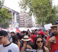 Chile vive una nueva jornada de protestas en las calles