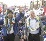 Justicia Electoral confirma la reelección de Evo Morales