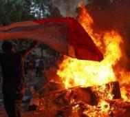 Chile: nuevas marchas acaban en violencia de encapuchados