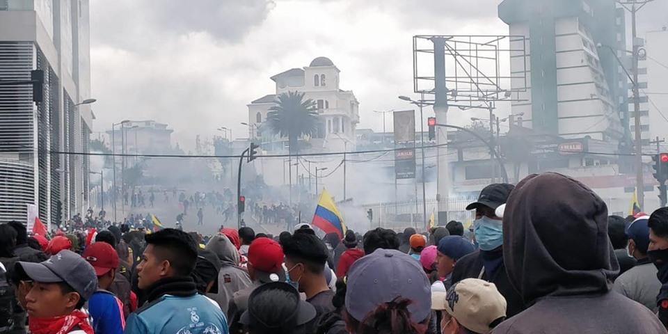 Ecuador: un gobierno que se debilita ante una lucha social que crece – Por Edgar Isch L.