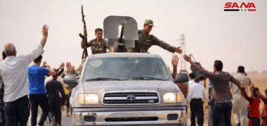 Ejército sirio llegó a la zona de kurdos atacados por Turquía