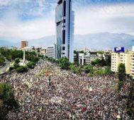 Pueblo chileno se multiplica en las calles del país