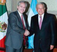 «Categórico apoyo» recibe Fernández de López Obrador